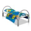 Одноярусные кровати металлические в пансионаты
