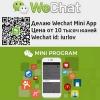 Вичат приложения Wechat Mini App